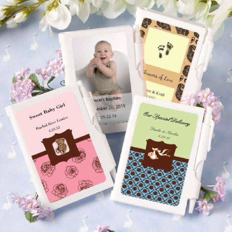 Personalized NoteBook Favors-Baby