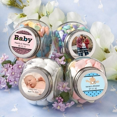 Personalized Glass Jar -Baby