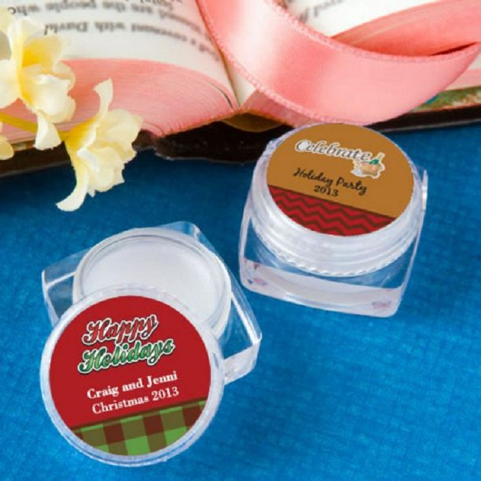 Personalized Lip Balm - Holiday