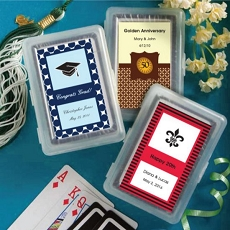 Personalized Playing Card Favor - Graduation Design