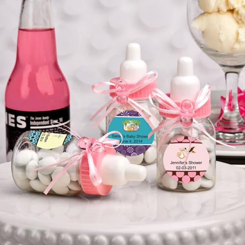 Design Your Own Pink Baby Bottlesfashion Craft