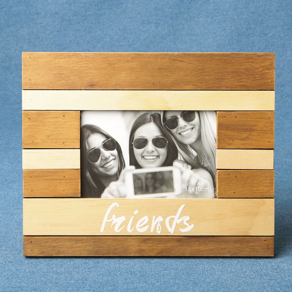 Wood Two Tone Frame - Friends