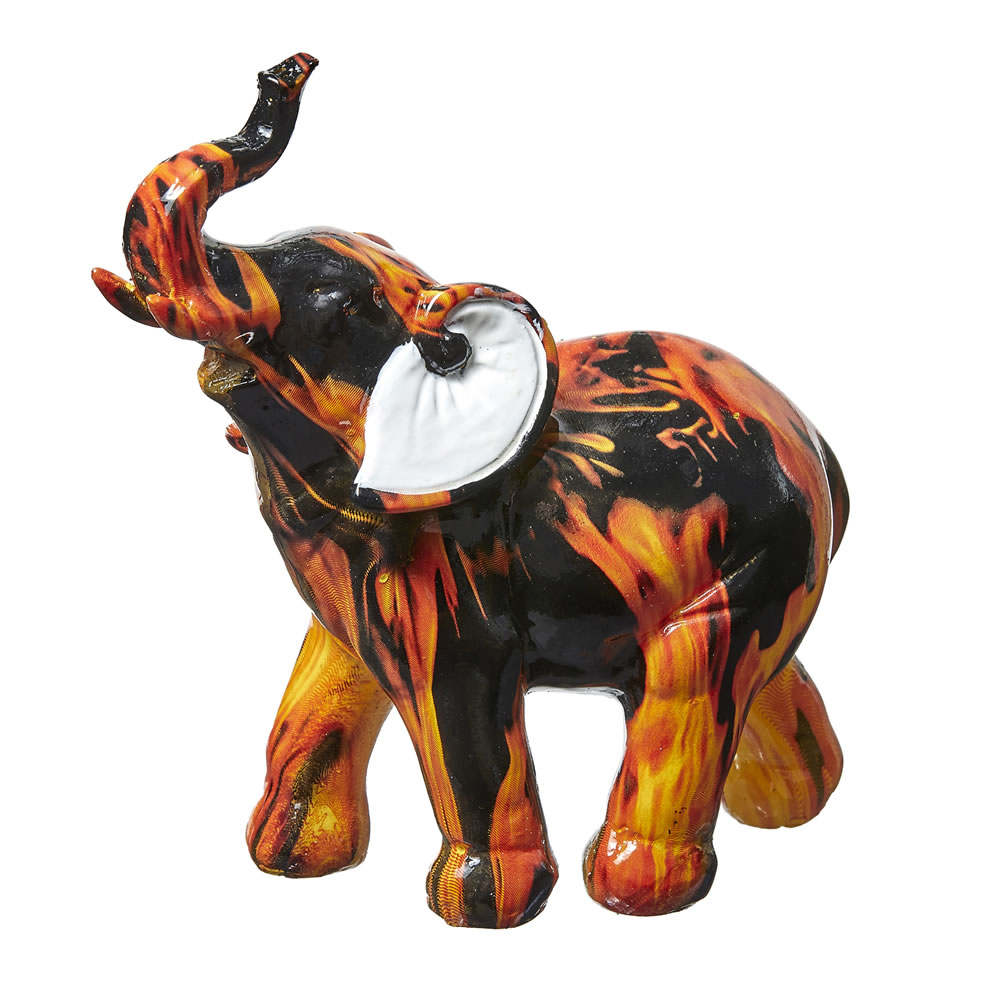 Flame Design Medium Elephant