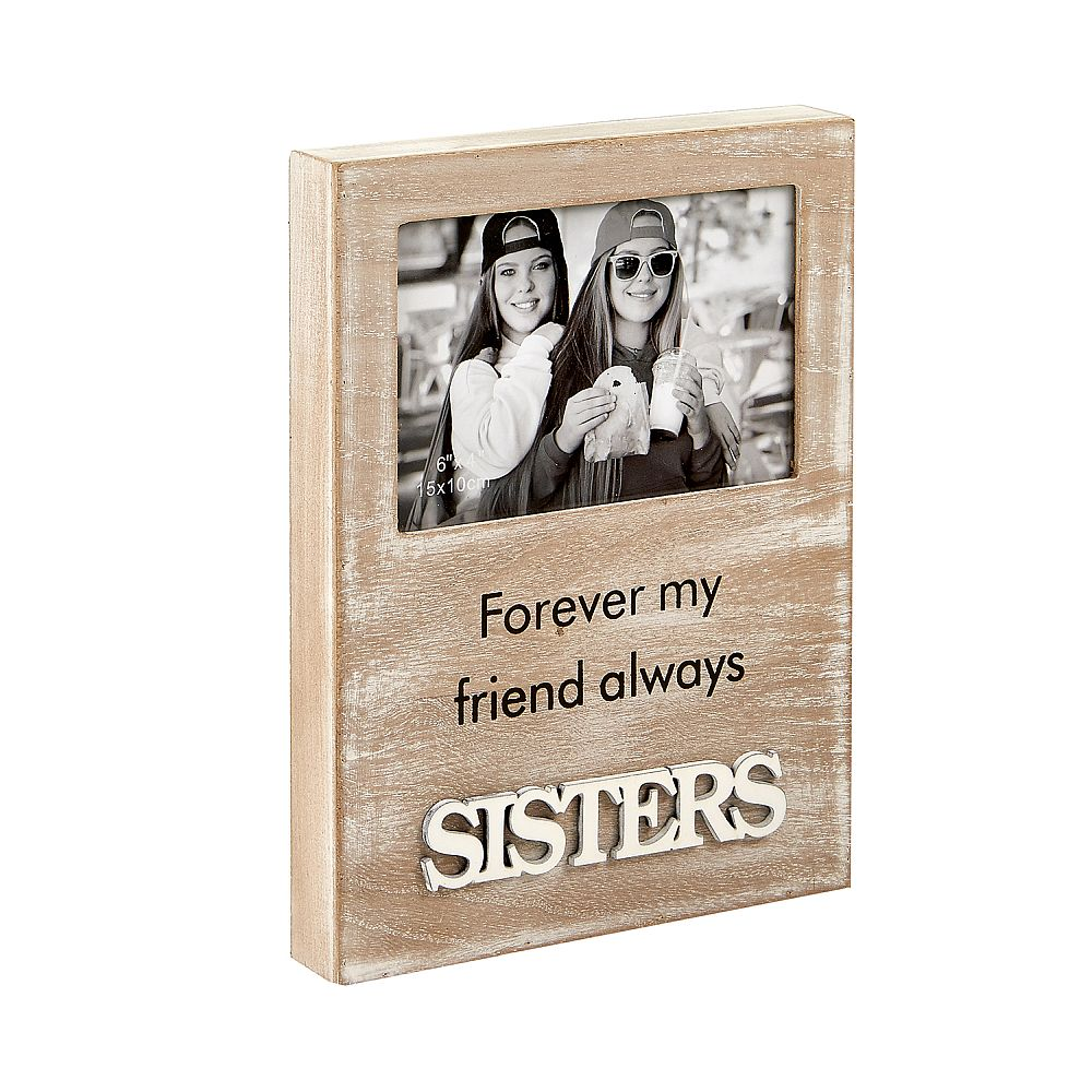 Sisters Wood Frame - Distressed Wood Finish