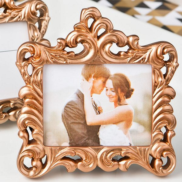 Rose Gold Baroque Style Frame Favor|Fashion Craft|