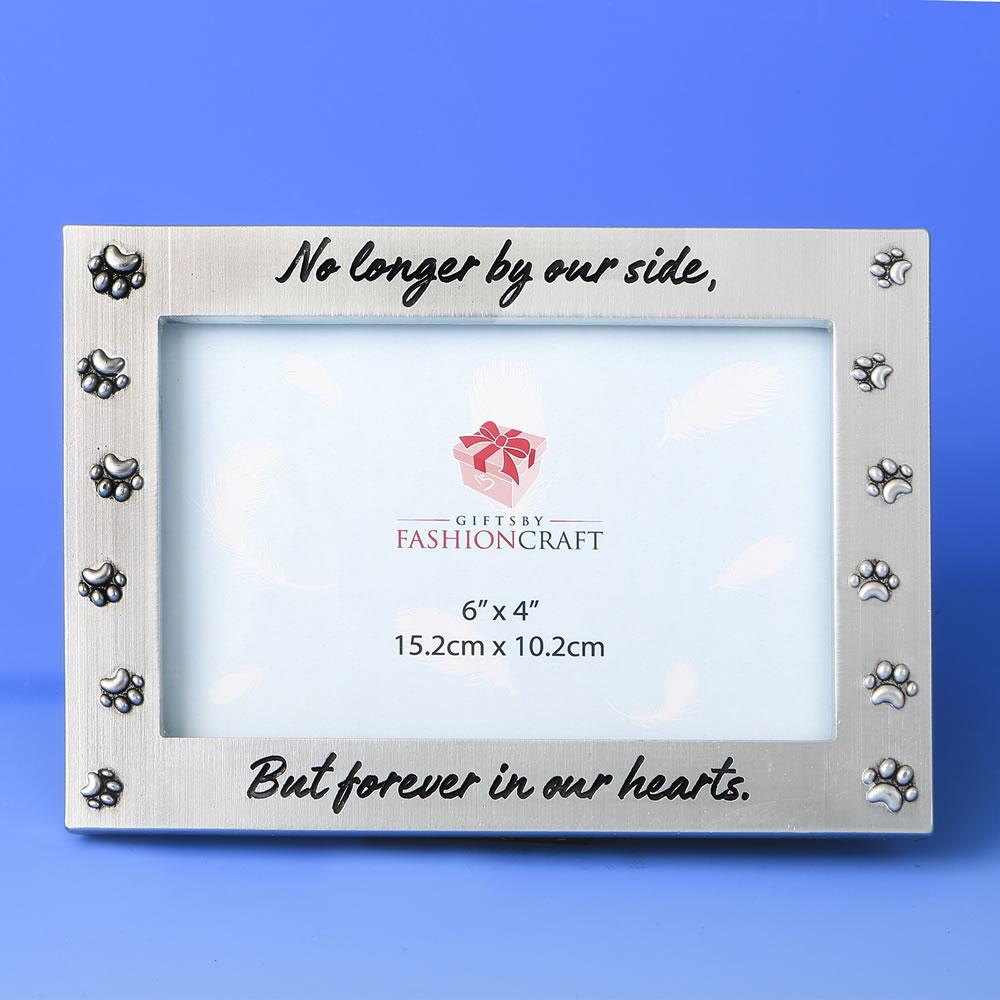 Pet Memorial Frame 6 X 4 Silverfashion Craft