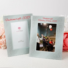 Silk-Screened Personalized Glitz & Glamour Holiday