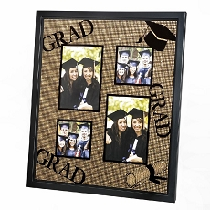 4 Opening Collage Glitter Copper Matte Frame