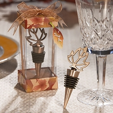 Autumn Themed Wine Stopper