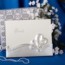 Hearts Design Guest Book