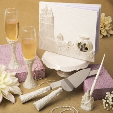 Fairytale Design Themed Wedding Accessory Set