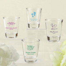 Screen Printed Shot Glass From Fashioncraft - Baby