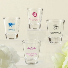 Screen Printed Shot Glass From Fashioncraft - Celebrate
