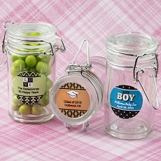 Personalized Collection Apothecary Jar Favor-Celebrate