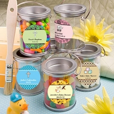 Design Your Own Mini Paint Cans Favors-Baby