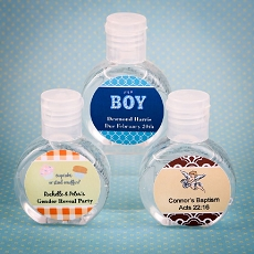 Personalized Expressions Hand Sanitizer Favor-Baby