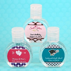 Personalized Expressions Hand Sanitizer Favor-Celebrate