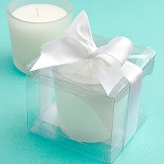Perfectly Plain Collection Candle Favors