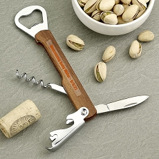 Personalized Natural Wood Multi-Function Bartenders Tool-Baby