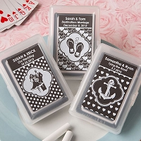 Chalk Board Collection Playing Card Favors
