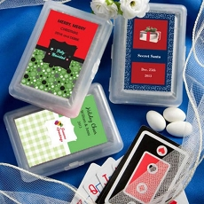 Personalized Expressions Playing Cards-Holiday