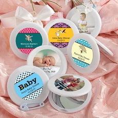 Personalized Mirror Compacts-Baby