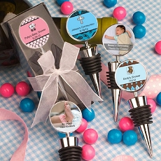 Personalized Wine Bottle Stoppers-Baby
