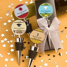 Personalized Wine Bottle Stoppers-Celebrate