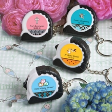 Personalized Key Chain/Measuring Tape-Baby
