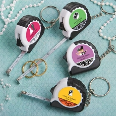Personalized Key Chain/Measuring Tape