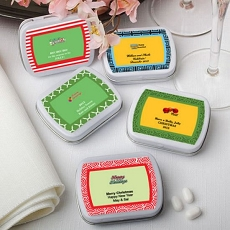 Personalized Expressions Mint Tins-Holiday