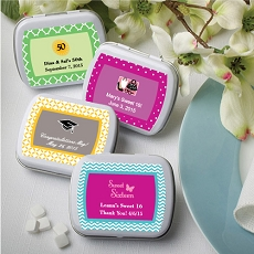 Personalized Expressions Mint Tins-Celebrate