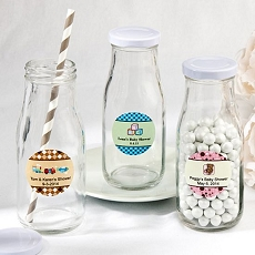 Design Your Own Vintage Milk Bottles