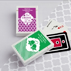 Simple Personalized Playing Cards