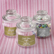 Personalized Metallics Collection Glass Jar - Misc