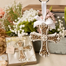 Stunning Vintage Cross Ornament From Fashioncraft