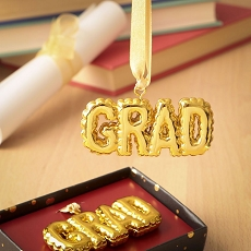 Gold Grad Hanging Ornament From Gifts By Fashioncraft