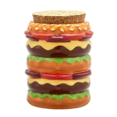 Cheeseburger Stash Jar