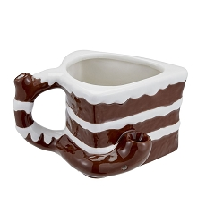 Cake Mug - Novelty Pipe