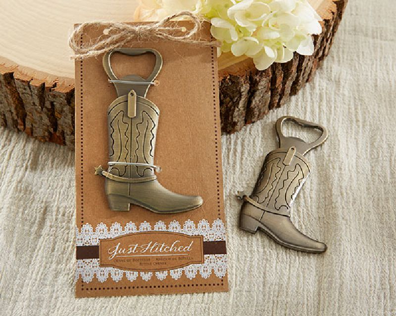 Just Hitched Cowboy Boot Bottle Opener-Kate Aspen