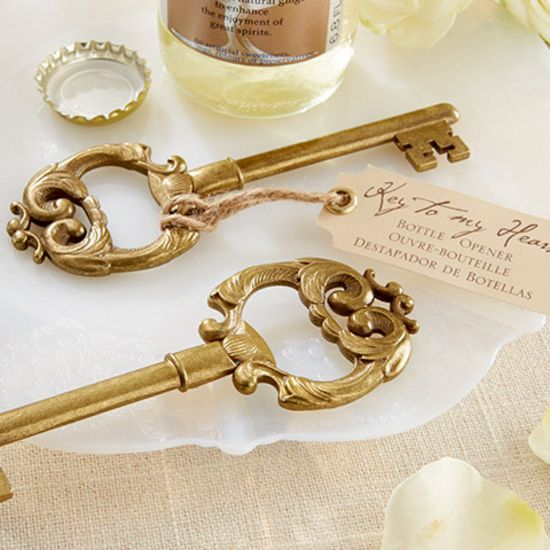 Key to My Heart Antique Bottle Opener-Kate Aspen