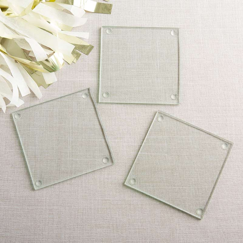 Glass Coaster - DIY (Set of 12) -Kate Aspen