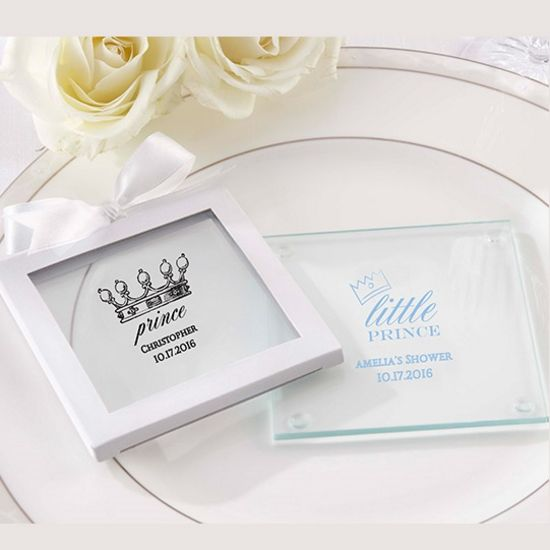 Personalized Glass Coaster - Little Prince (12) -Kate Aspen