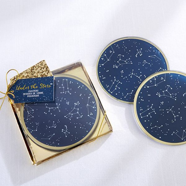 Under the Stars Glass Coasters-Kate Aspen