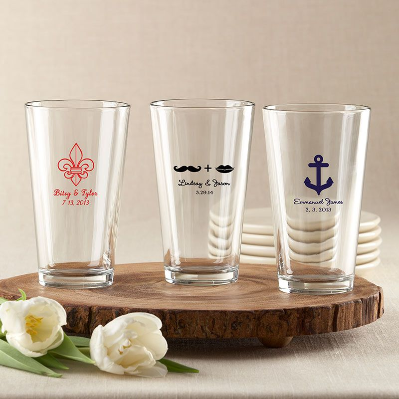 Personalized Pint Glass 16 oz.-Kate Aspen