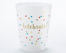Celebrate 14 oz. Stadium Cups (Set of 12)-Kate Aspen
