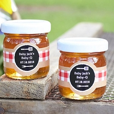Personalized Honey Jar - BBQ (Set of 12) -Kate Aspen