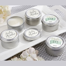 Personalized Travel Candles - Rustic Collection-Kate Aspen
