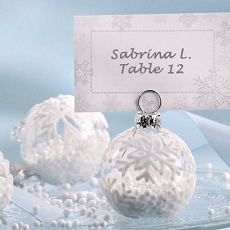 Flocked Glass Ornament Card Holder (6)