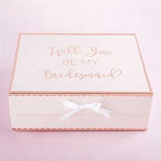 Will You Be My Bridesmaid Kit Gift Box (Pink)
